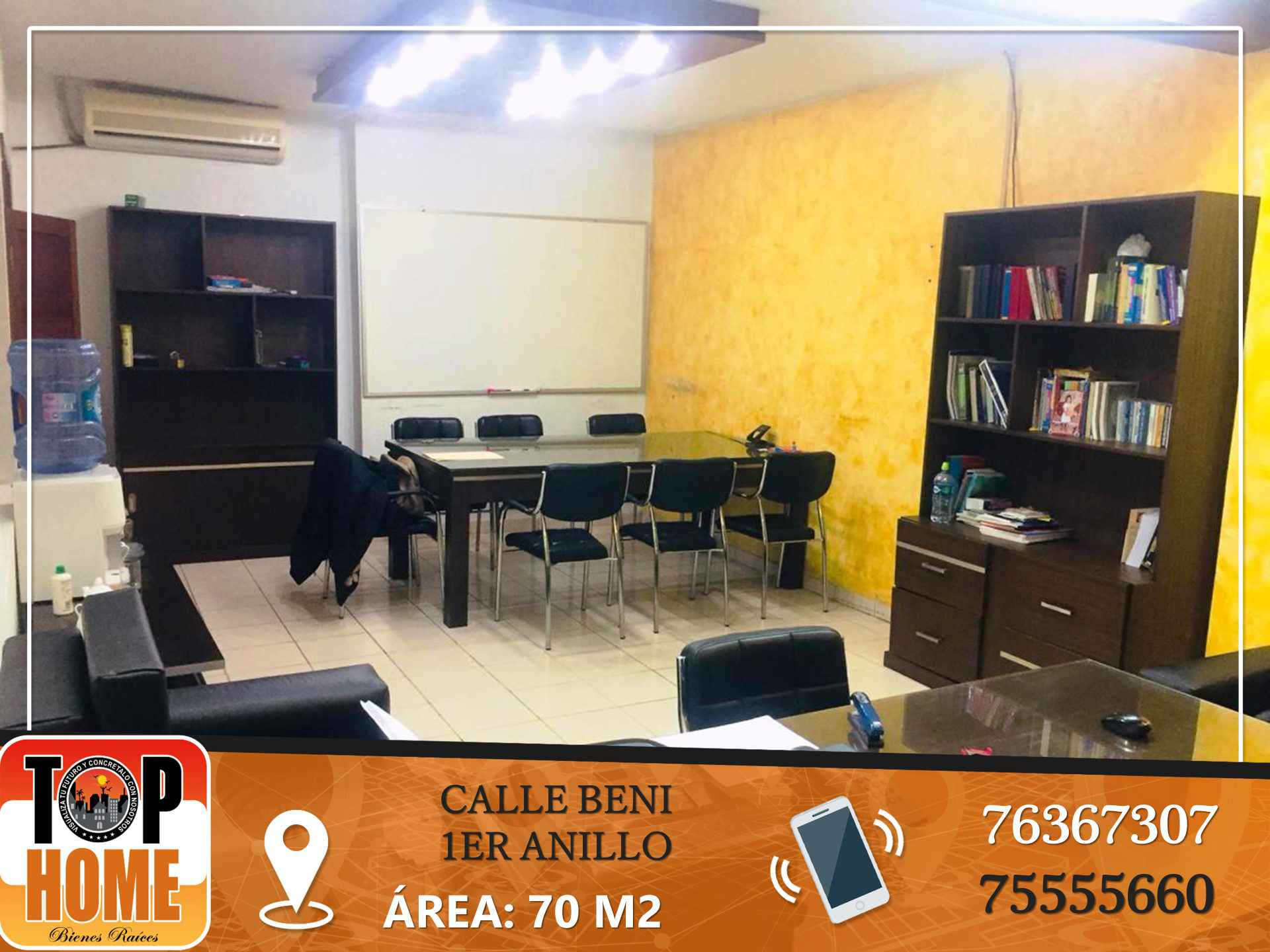 Oficina en Alquiler AV BENI 1ER ANILLO Foto 3