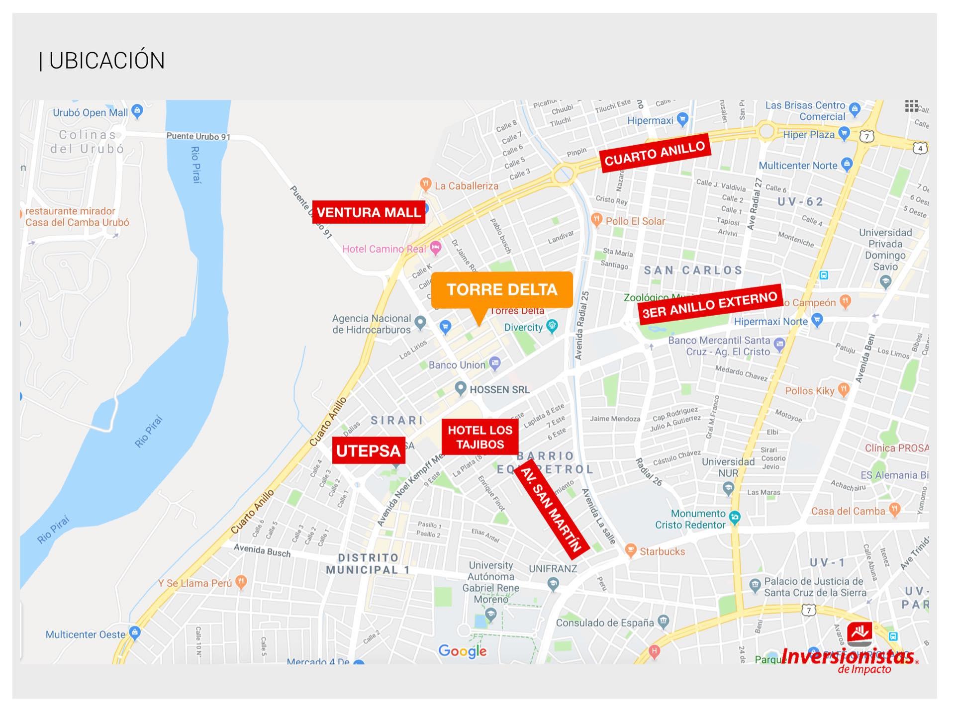 Departamento en Alquiler Condominio TORRE DELTA, EQUIPETROL, ubicación estratégica. Foto 9