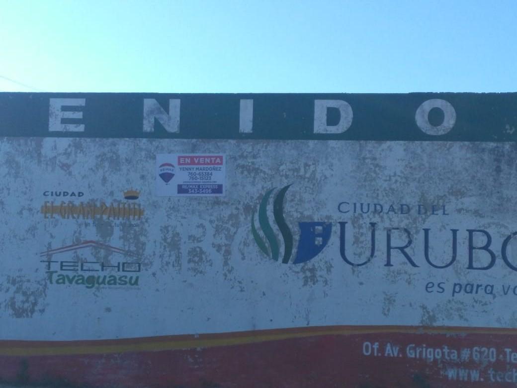 Terreno en Venta CUIDAD DEL URUBO DE TECHO Foto 5