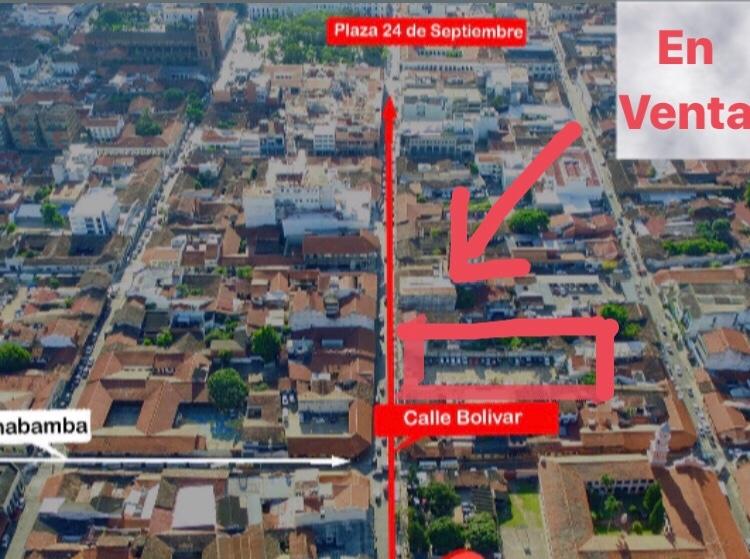 Terreno en Venta Terreno de 1362 mts en calle Bolivar entre Calles La Paz y Cochabamba Foto 2