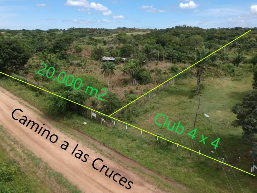Terreno en Venta Camino a las cruces municipio de Porongo Foto 2