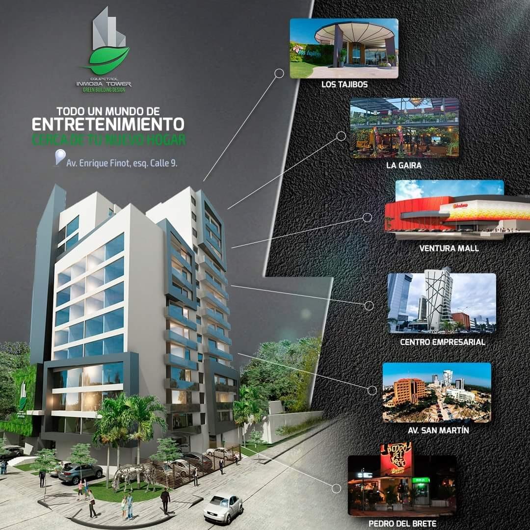 Departamento en Venta ? Equipetrol, frente Hotel Los Tajibos (centro empresarial) Foto 6