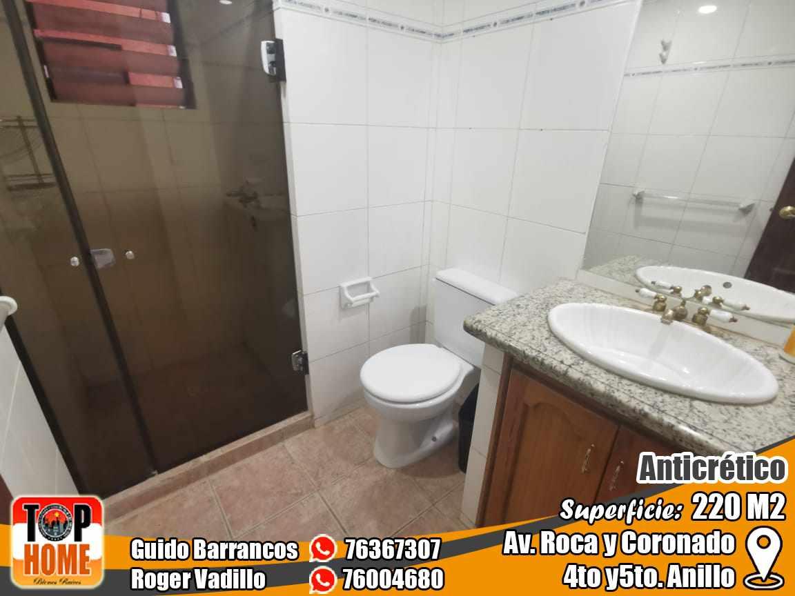 Departamento en Anticretico 4TO Y 5TO ANILLO ROCA Y CORONADO. Foto 13