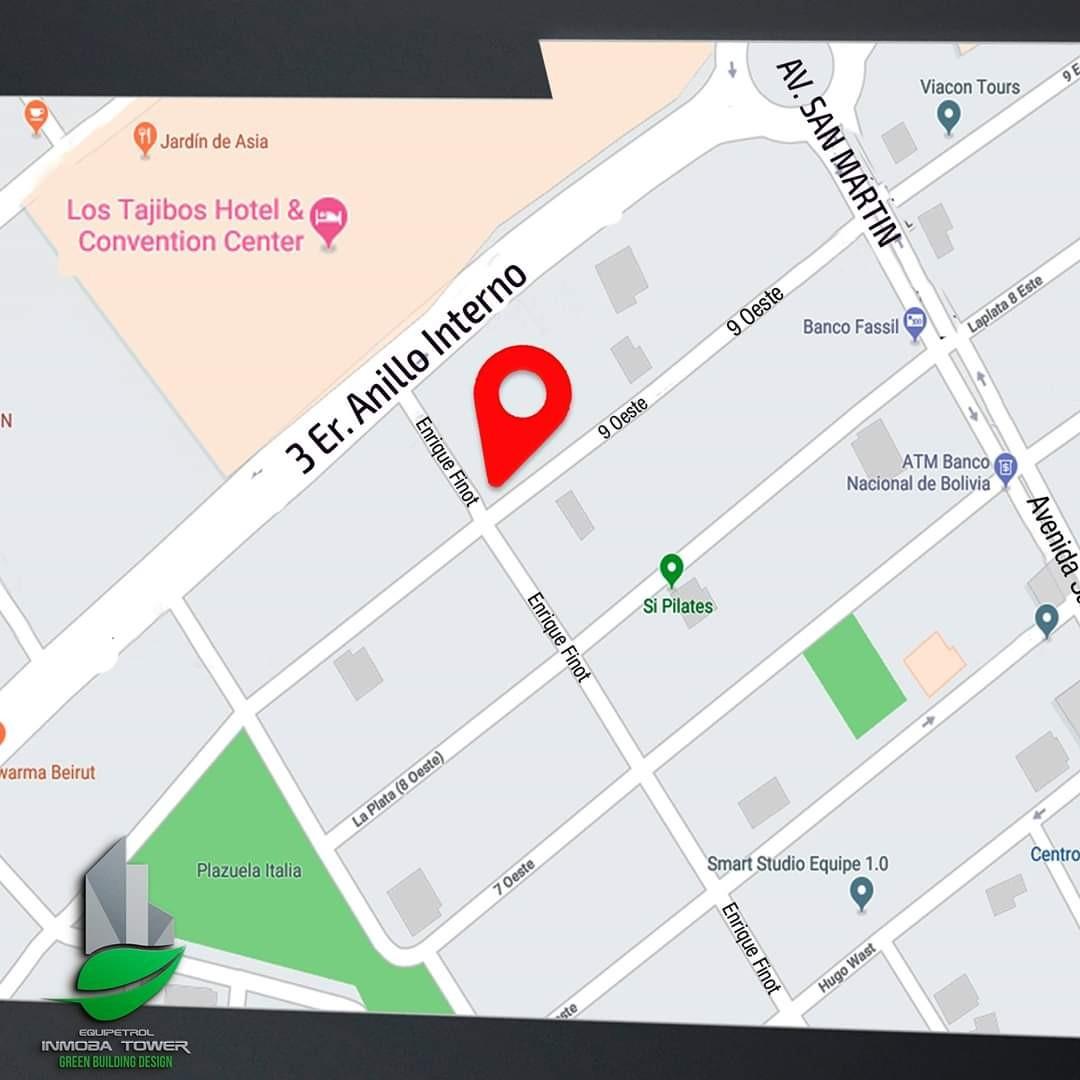 Departamento en Venta ? Equipetrol, frente Hotel Los Tajibos (centro empresarial) Foto 13