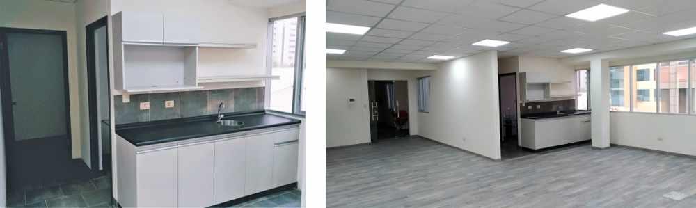 Oficina en Alquiler CALACOTO Calle 12 esquina Sanchez Bustamante. A 1 cuadra de Av. Ballivián.  Edificio de Amaszonas. Foto 11