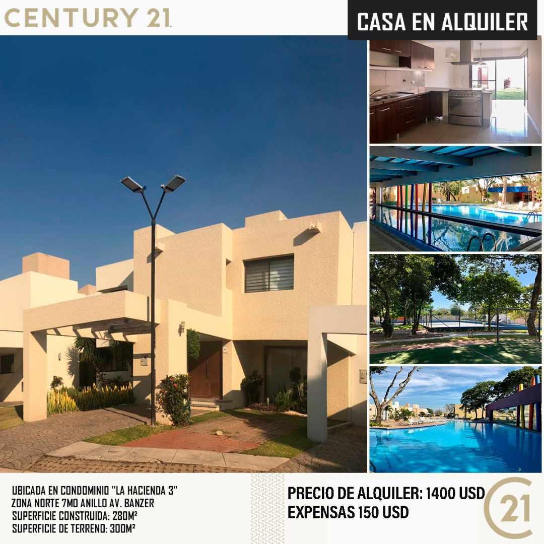 Casa en Alquiler ZONA NORTE - CONDOMINIO LA HACIENDA 3, CASA EN ALQUILER. Foto 3