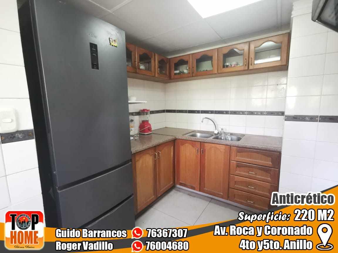 Departamento en Anticretico 4TO Y 5TO ANILLO ROCA Y CORONADO. Foto 10