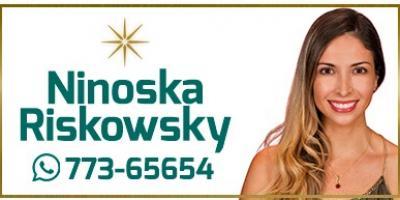 Ninoska Riskowsky Riskowsky - agente portada