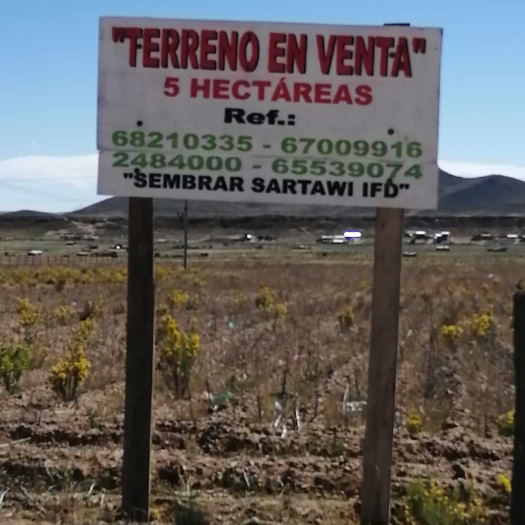 Terreno en Venta Zona Franca Patacamaya, ZOFRAPAT Foto 2