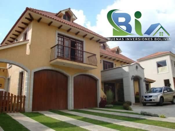 Casa en Alquiler $us.1800 ALQUILER RESIDENCIA COLONIAL 1100M2 URB. BOSQUE SUR Foto 5