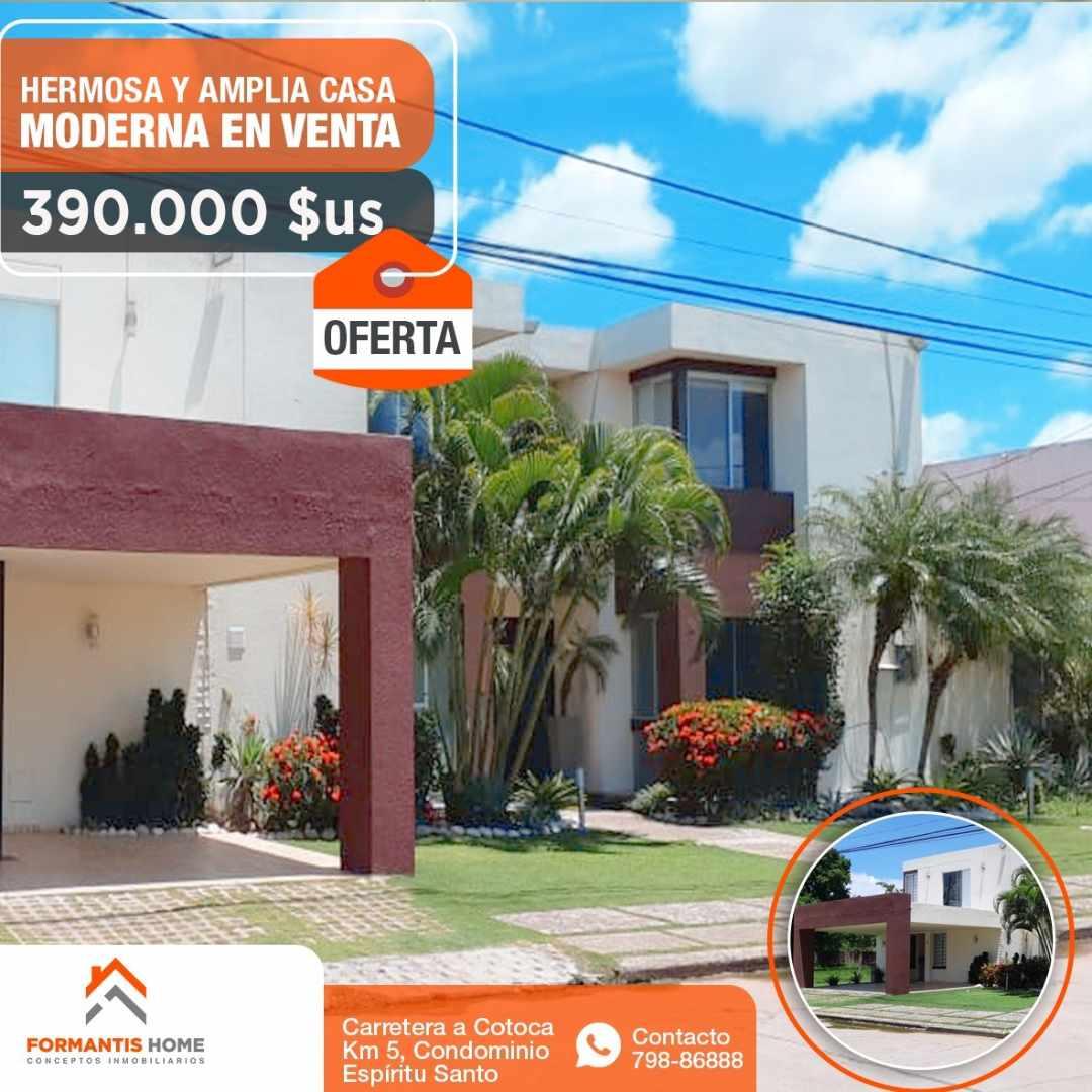 Casa en Venta HERMOSA CASA EN VENTA DE OCASION, CARRETERA A COTOCA KM. 5 CONDOMINIO ESPIRITU SANTO Foto 11
